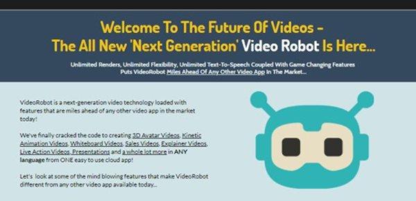 VideoRobot Video Technology